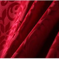 Роскошный круглый стол Обложка Круглый жаккарда Дамасской Скатерть Отель Свадьба Скатерть машина моющийся ткани Ткань Таблица 10шт