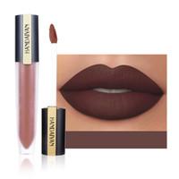 Mate lèvre velours velours lèvres liquide étanche longueur longue durée de bâton glaçure lèvre quotidienne maquillage maquillage de 12 couleurs de couleur mélangée