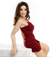 Boutique sexy belle poupée gonflable de silicone vrai visage pour les hommes des femmes en caoutchouc japonais vagin chatte Sexuelles poupées