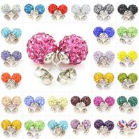 Ohrringe für Frauen Korean Modeschmuck Swarovski Kristall Kupfer Baumeln Kanal Ohrring Hochzeit Günstige Silber Ohrstecker