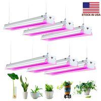 64W LED가 4피트 라이트 인터넷 성장을위한 램프 수경 조명 성장을 성장 LED 업데이트와 실내 식물 채식 꽃 빛 전체 스펙트럼을 성장