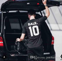 BALR 10 Letter Print Tshirt Men Women Summer Short Sleeved A...
