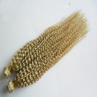 المنغولية الأفرو غريب مجعد الشعر نسج 2 قطع 4b 4c غريب مجعد الشعر التمديد نسج الشعر البشري حزم