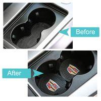 Autoinnenraumzubehör Anti Slip-Tasse Matte für Cadillac Escalade, CTS, SRX, BLS, ATS, STS, XTS, SXT