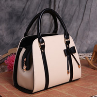 New bow- knot handbag lady' s one shoulder straddle bag