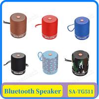 TG511 Haut-parleur portable Bluetooth sans fil Soundbar basse extérieure Mini Subwoofer Box Musique MP3 Boombox Support de carte USB TF AUX bas prix