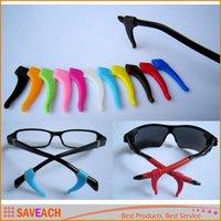 스포츠 안경 안경 선글라스 안경 안경 액세서리 1Pair 부드러운 실리콘 미끄럼 방지 그립 홀더 귀 후크 팁 홀더