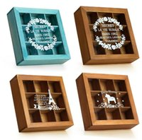 Vintage Jewelry Storage Box Handmade Classical Decorative Tr...