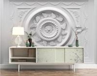 3d خلفيات 3d3d النمط الأوروبي الجص ريلي خلفية جدارية غرفة المعيشة ديكور المنزل ورق الحائط للجدران 3d papel دي parede