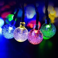 Factory wholesale Solar LED String Lights 6. 5M 30LED Chain O...