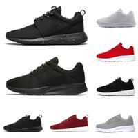 2020 Tanjun Run أحذية الجري للرجال النساء المتسابقين ثلاثة أضعاف أسود أبيض أحمر تنفس رجل مدرب أحذية رياضية لندن
