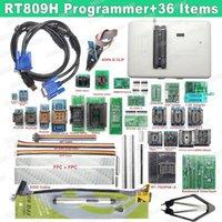 무료 배송 Original RT809H EMMC-Nand FLASH 매우 빠른 유니버설 프로그래머 +36 Items + Edid Cable + Sucking Pen EMMC-Nand