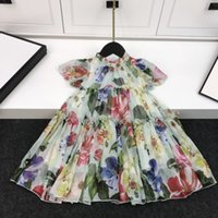 2020 high quality girl dress casual fashion spring new dress...