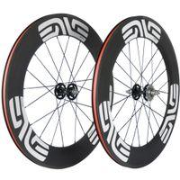 700C A Çifti Bisiklet Karbon Tekerlekli çiftler 88mm 165-166 Hub gariplik / Tüp Karbon Wheels ile Dişli Bike Sabit