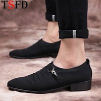 Breathable Leather Man Shoes Men Brands Loafers Black Sneake...
