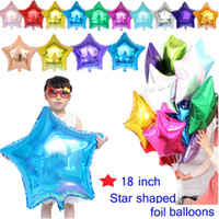 18 inch Large Pentagram Aluminum Balloons For Children Birth...