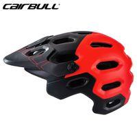CAIRBULL Fahrradhelm Atmungsaktiv 25 Belüftungsöffnungen Fahrrad Reithelm Kopfschutz Integral geformter MTB Rennradhelm