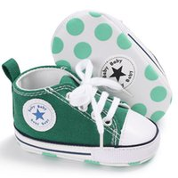 2019 New Sole baby spring and autumn lace- up casual canvas s...