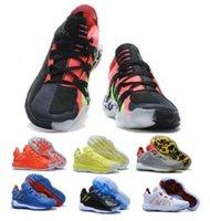 Sapatos baratos Dame 6 Mens Basketball Sneakers solares Vermelho Branco Tempo Sonic the Hedgehog Lillard 6s VI Alta Qualidade Esporte Formadores Athletic Shoes