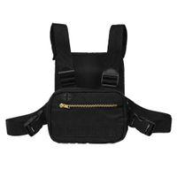 Running Chest Rig Bag Bolso de hombro para hombre profesional Bolsas de hombro para teléfono móvil Estuche para bolsa Mochila para bicicleta de montar al aire libre Pecho Mochila