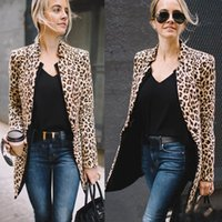 Female Luxury coat for Women Coat Winter Warm Fashion Leopar...