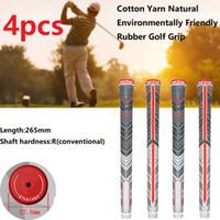 4 pcs Golf Club Grip Putter Grip 265mm Universal PU PUL não-deslizante Peso Durável Golf Club Club Putter Grip Tamanho Padrão