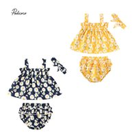 Summer 0- 18M Newborn Infant Kids Baby Girl Clothes Daisy Sle...