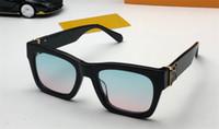 Neue Modedesign Männer Sonnenbrille 1244 Katze Augenplattenrahmen Einfache Popstil Millionärer Serie UV400 Schutz Großhandel Brille Top