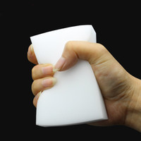 Magie Reinigungsschwamm Weißer Schwamm Melamin Radiergummi Für Tastatur Auto Küche Bad Reinigungswerkzeuge 10x6x2 cm WX9-1328