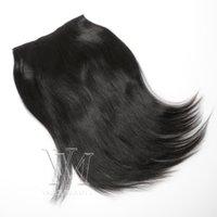 VMAE 160G كليب في 12-26 بوصة 100٪ البرازيلي الانسان الشعر ياكي اللون الطبيعي غير معالجة الشعر الإنسان