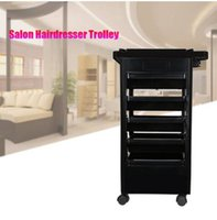 hot Sales!!!Wholesales Free shipping Salon Hairdresser Trolley Barber Beauty Storage Hair Rolling Cart Salon Tool