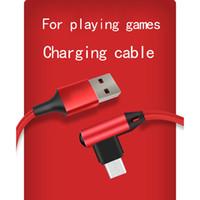 allMobile Telefon Hızlı Şarj için 100cm 150cm Dirsek C Tipi Mikro USB Kabloları Hızlı Şarj 90 Derece Kablo İçin Samsung Huawei Hızlı kablo
