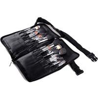 Tamax NA015 Profesyonel Kozmetik Makyaj Fırça PVC Önlük Çantası Sanatçı Kemer Kayışı Protable Makyaj Çanta Tutucu