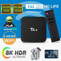 New Arrival TX3 4GB 64GB 8K TV Box Amlogic S905X3 Android 9....