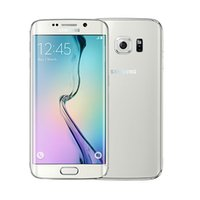 Recuperado Samsung Galaxy S6 Borda G925A G925T G925F OctaCore 3GBRAM 32GBROM 4G LTE 16MP 5.1inch caixa selada entregas