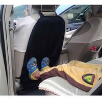 Araba Oto Koltuk Geri Koruyucu Kapak Anti Tekme Yastıklı Çocuk Bebek Araba Koltuğu Geri Itişme Kir Koruyucu İç Aksesuar
