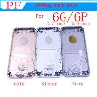 """Nouveau Qualité A pour iPhone 6 4.7 """"6g / 6 plus 5.5"""" Cache-batterie complet, partie centrale, cadre en métal, pièce de rechange"""