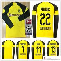 099dae473 Compre 2019 Dortmund Camisa De Futebol Fora 18 19   11 REUS Away ...