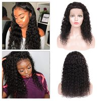 Deep Wave 360 Lace Frontal Wig Pre Plucked Hairline Deep Cur...