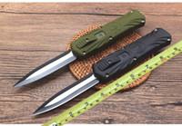 2019 NEW Tactical knife 440 steel blade Black green ABS hand...