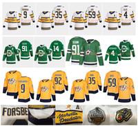 2020 inverno Classic Nashville Predators Jersey Dallas Stars Forsberg Pekka Rinne Roman Josi Ryan Johansen Miro Heiskanen Tyler Seguin Hockey