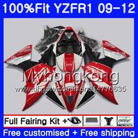 YAMAHA YZF 1000 R 1 YZF R1 2009 2010 2011 241HM.49 YZF-1000 YZF-R1 YZF1000 Stcok 레드 프레임 YZFR1 09 10 11 12 페어링 키트