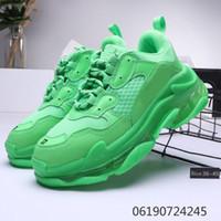 남성 여성 블랙 싼 스포츠 럭셔리 디자이너 배 S 빈티지 신발 크기 EUR 36-45 2020 패션 캐주얼 신발 플랫폼 17FW 트리플 S 아빠