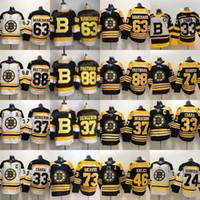 88 David Pastrnak 2019-20 Terceiro Bruins Patrice 37Bergeron Torey Krug David Krejci Jake Debrusk Charlie McAVoy Zdeno Chara Tuukka Rask Jersey