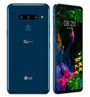 """원래 LG G8 ThinQ G820UM G820N 옥타 코어 6.1 """"6기가바이트 / 1백28기가바이트 지문 NFC 쓰자 잠금 해제 휴대 전화"""