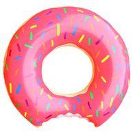 تعويم 90CM بركة للسباحة السباحة الدائري الكبار يطفو ألعاب الشاطئ طوف السباحة تجمع يطفو الحياة العوامة حلقة الفراولة دونات السباحة