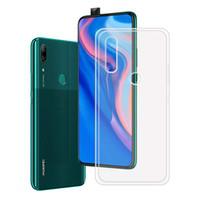 Caso de la cubierta de silicona transparente de teléfono para Huawei P Smart Z TPU Transparente 360 Volver Armadura Y9 2020 Primer PSmart Smartz Y9Prime Gel