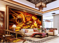 custom size 3d photo wallpaper living room mural Nautical chart Retro nostalgia 3D picture sofa TV backdrop wallpaper non-woven sticker