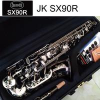 Germania JK SX90R Keilwerth sassofono contralto nero nichel argento lega alto sax ottone strumento musicale con custodia bocchino copia