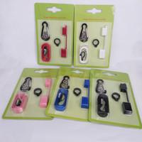 Vape Pods Carry On Kit con cappuccio anti polvere in silicone Cordino Vape Rings per COCO SMPO MT Ecig Pen Holder